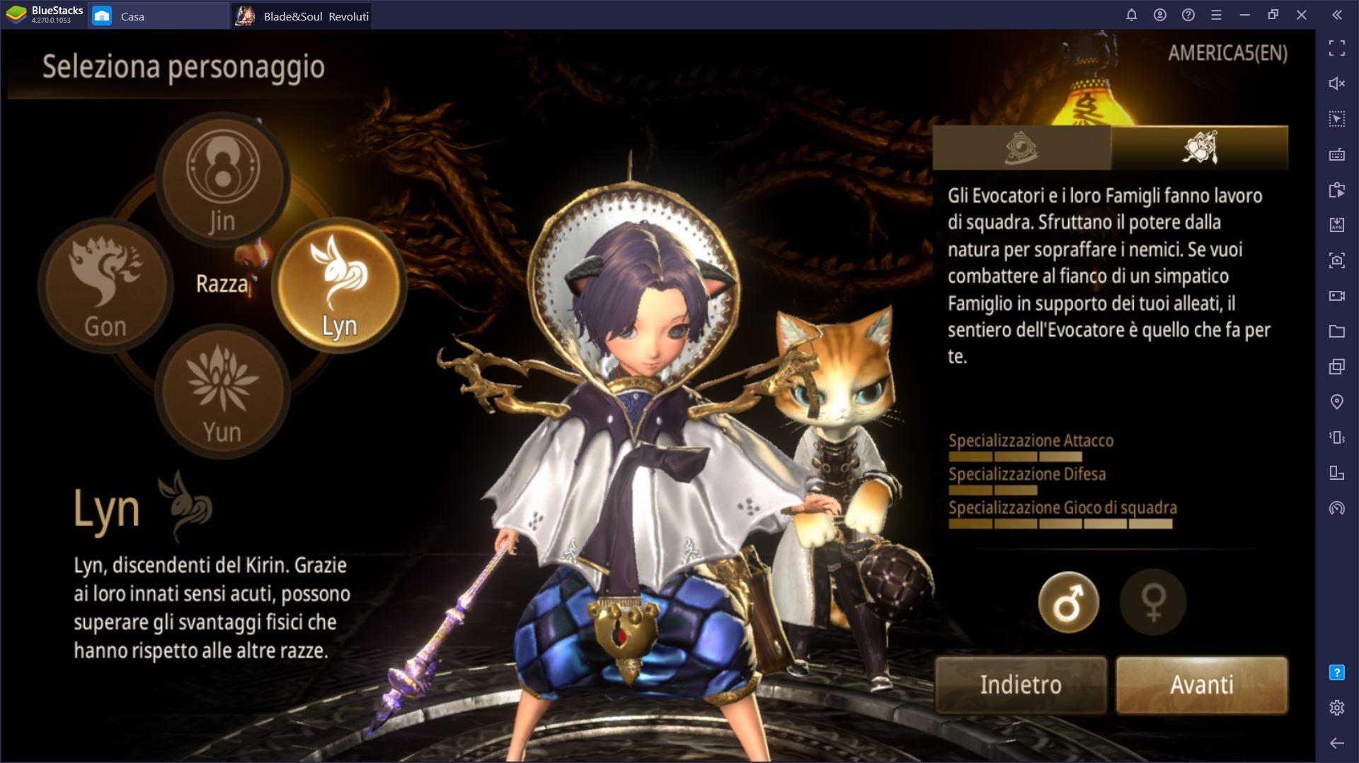 Come giocare Blade and Soul: Revolution su PC con BlueStacks