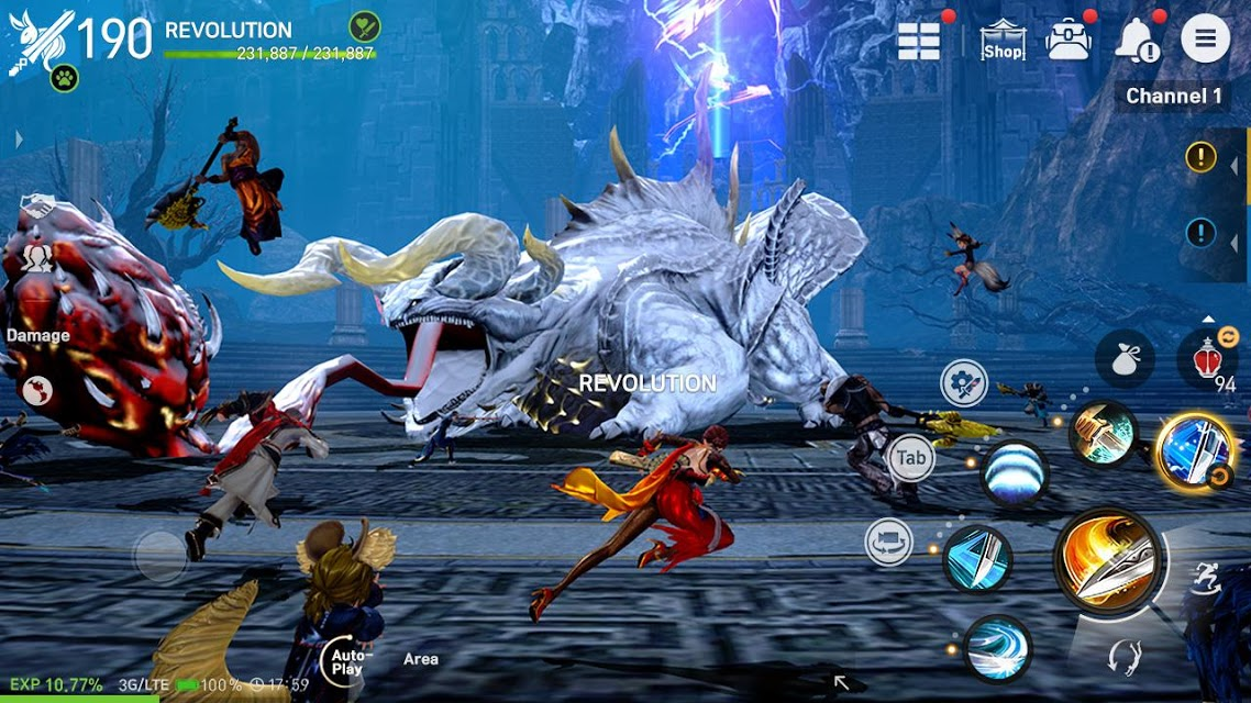 Blade and Soul Revolution's Faction War Revolutionary Update Is Here