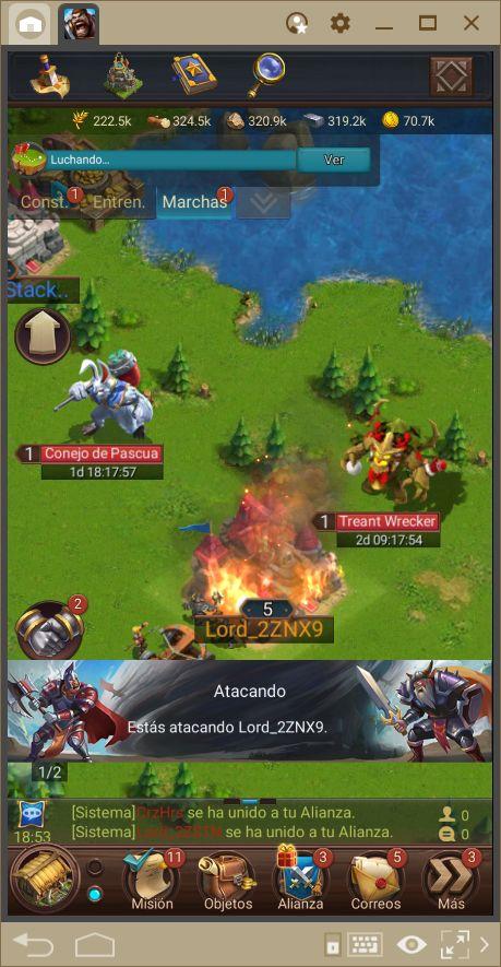 Blaze of Battle—Guía de Progresión y Ataque
