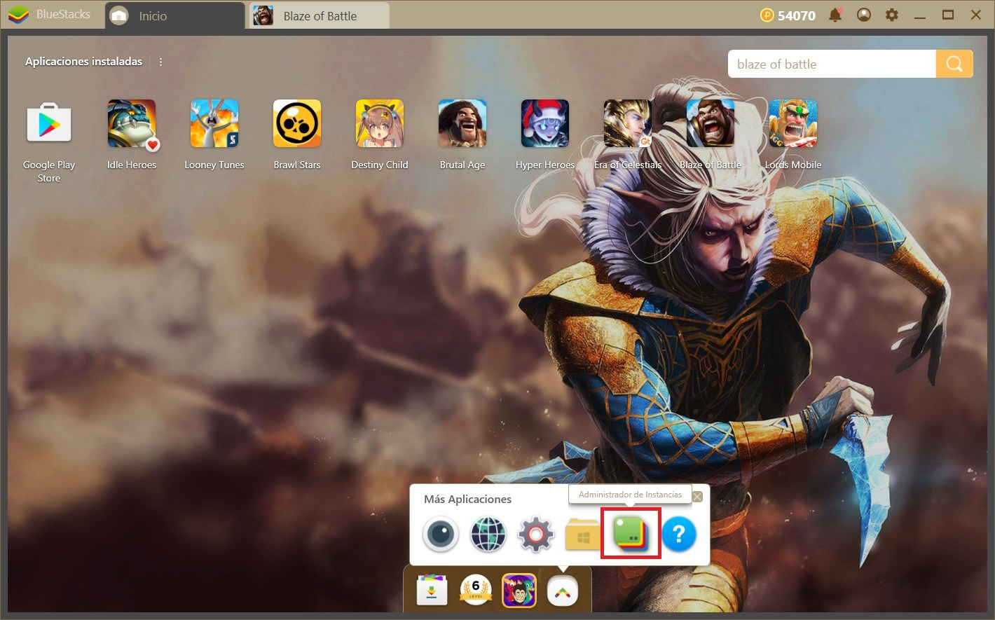 Domina a tu Servidor en Blaze of Battle con BlueStacks