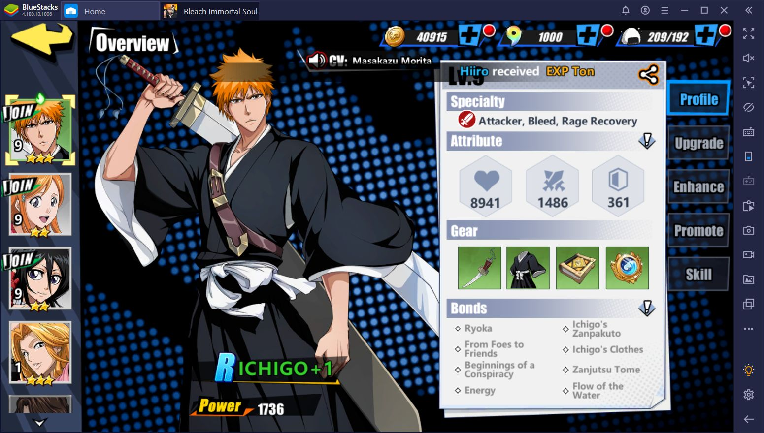 Tier List for Bleach: Immortal Soul on PC - The Best Characters You Can Summon