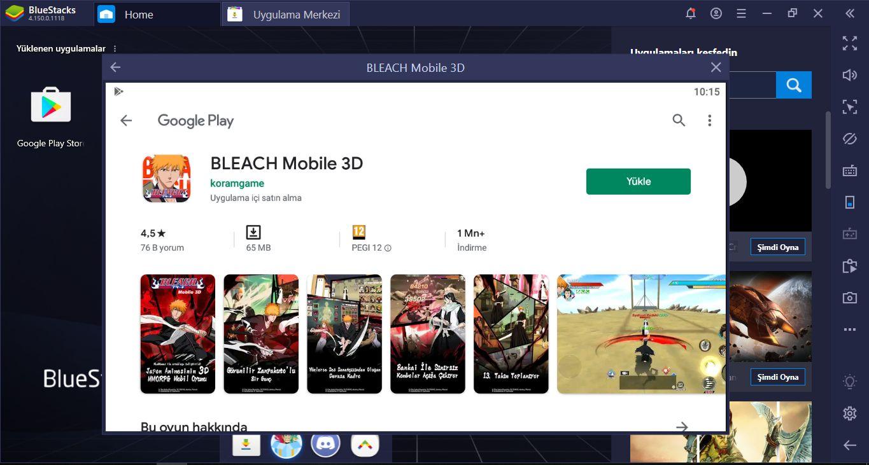 Bilgisayarınızda Bleach Mobile 3D Oynayın: BlueStacks Kurulum Rehberi