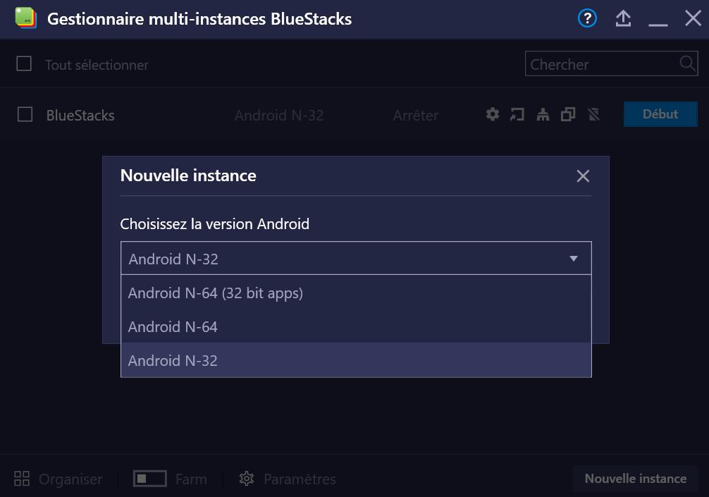 BlueStacks Version 4.200 - Jouez aux jeux Android 64 bits et 32 bits avec un seul et même client