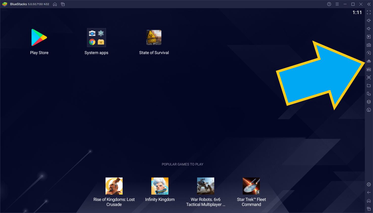 La fonction Mémoire Trim de BlueStacks 5 vous assure des sessions de jeux sans lag et consommant le moins de RAM possible
