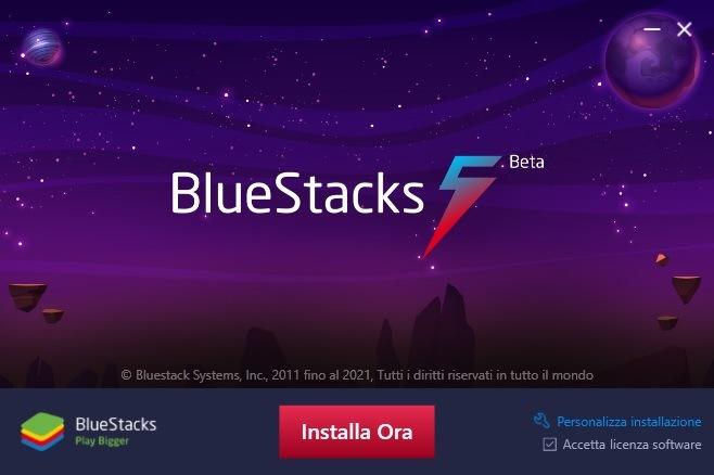 Come scaricare il nuovo BlueStacks 5 su Windows 7, 8, 10