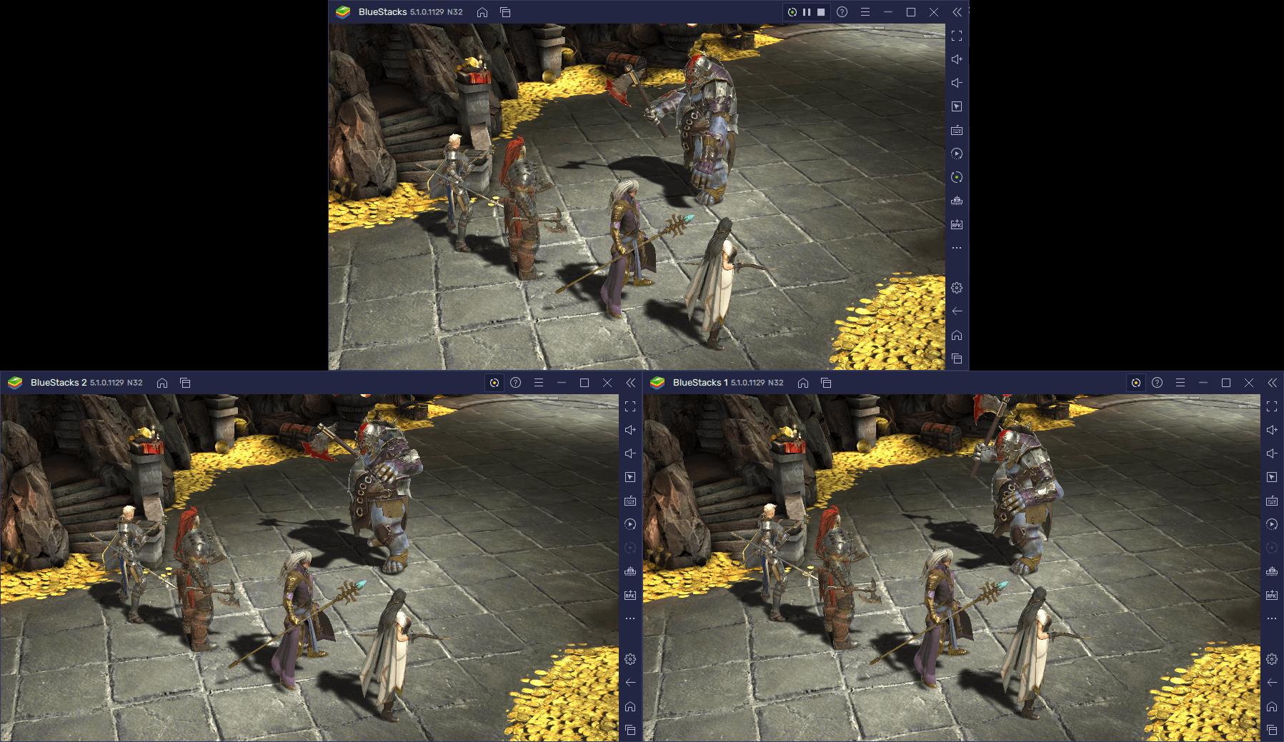 A Sincronização de Multi-Instâncias está chegando ao BlueStacks 5, na atualização 5.1
