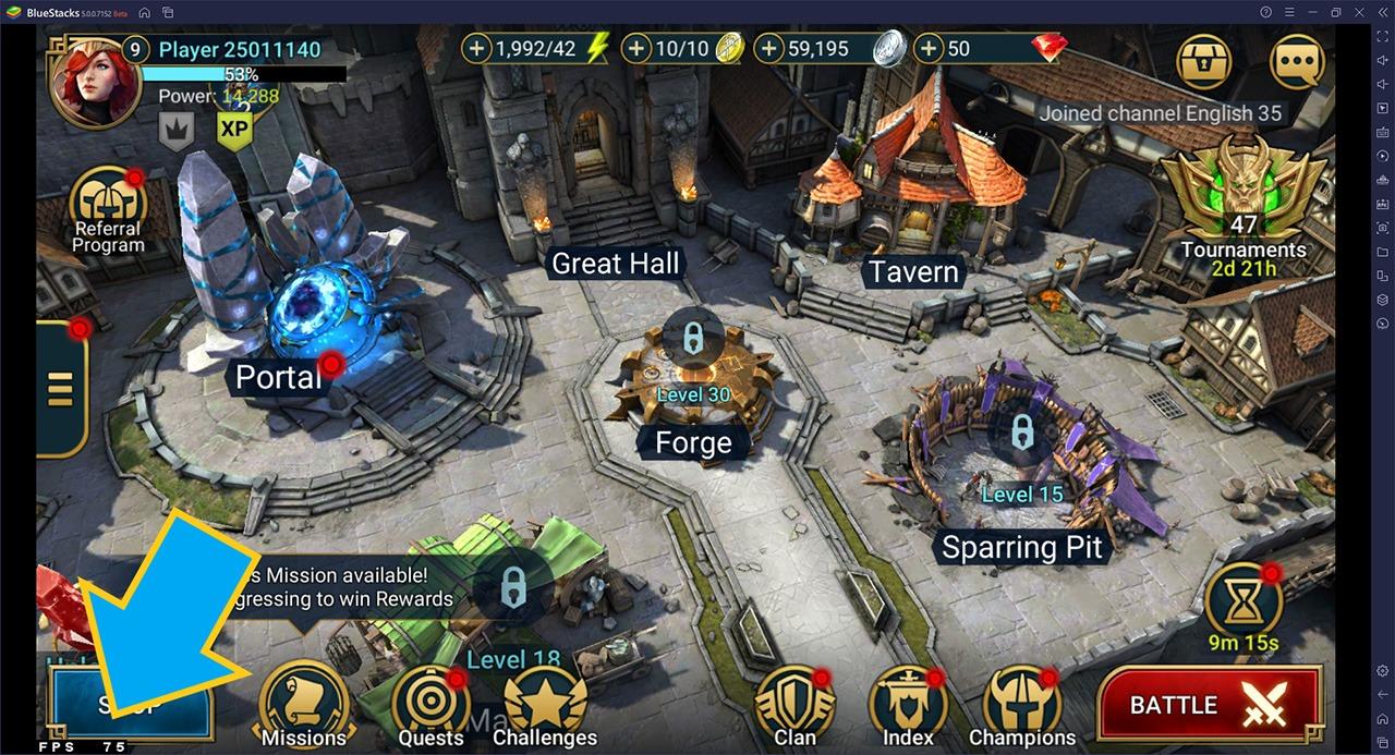 Trải nghiệm chơi game vượt trội: Chế độ Eco Mode, Long Flight và Khóa FPS với BlueStacks 5