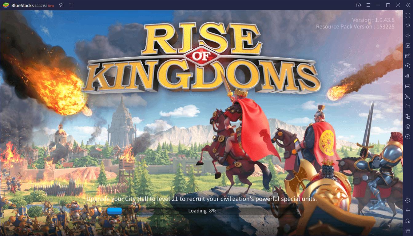 BlueStacks 5 Vs. BlueStacks 4 – Performance Comparison for Rise of Kingdoms
