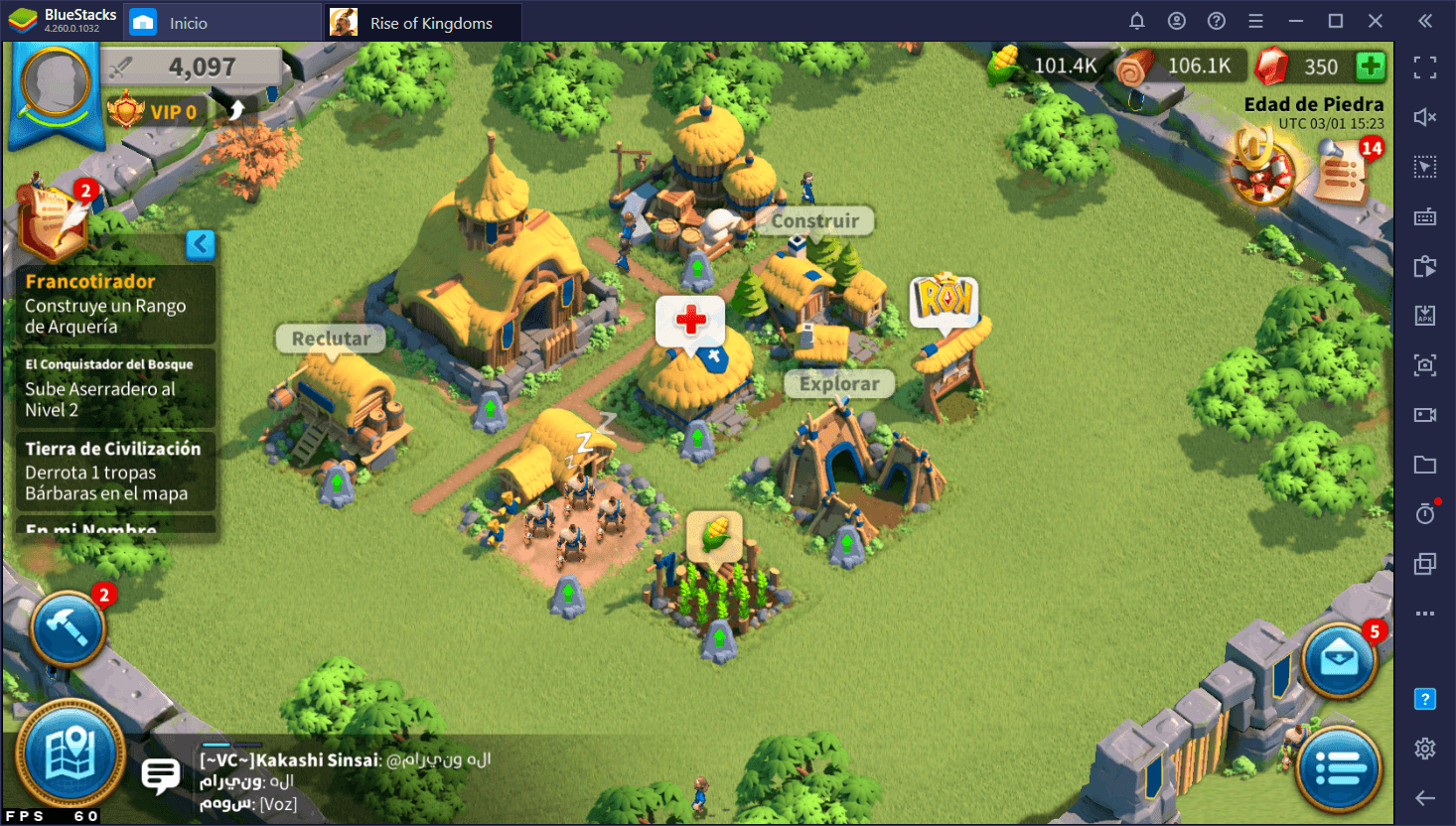 BlueStacks 5 Vs. BlueStacks 4 – Comparación de Desempeño Para Rise of Kingdoms