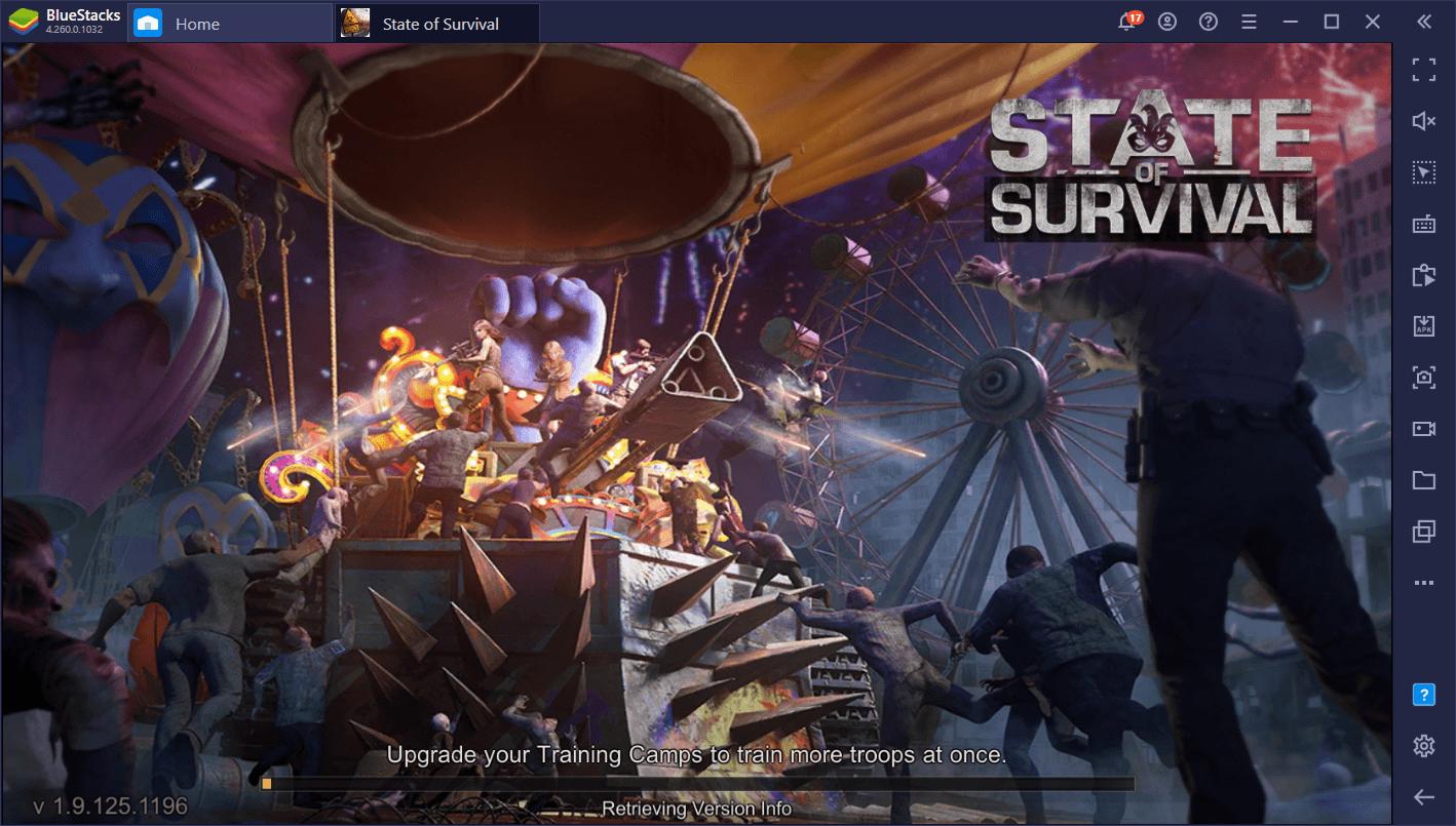 Сравнение производительности BlueStacks 5 и BlueStacks 4 в State of Survival