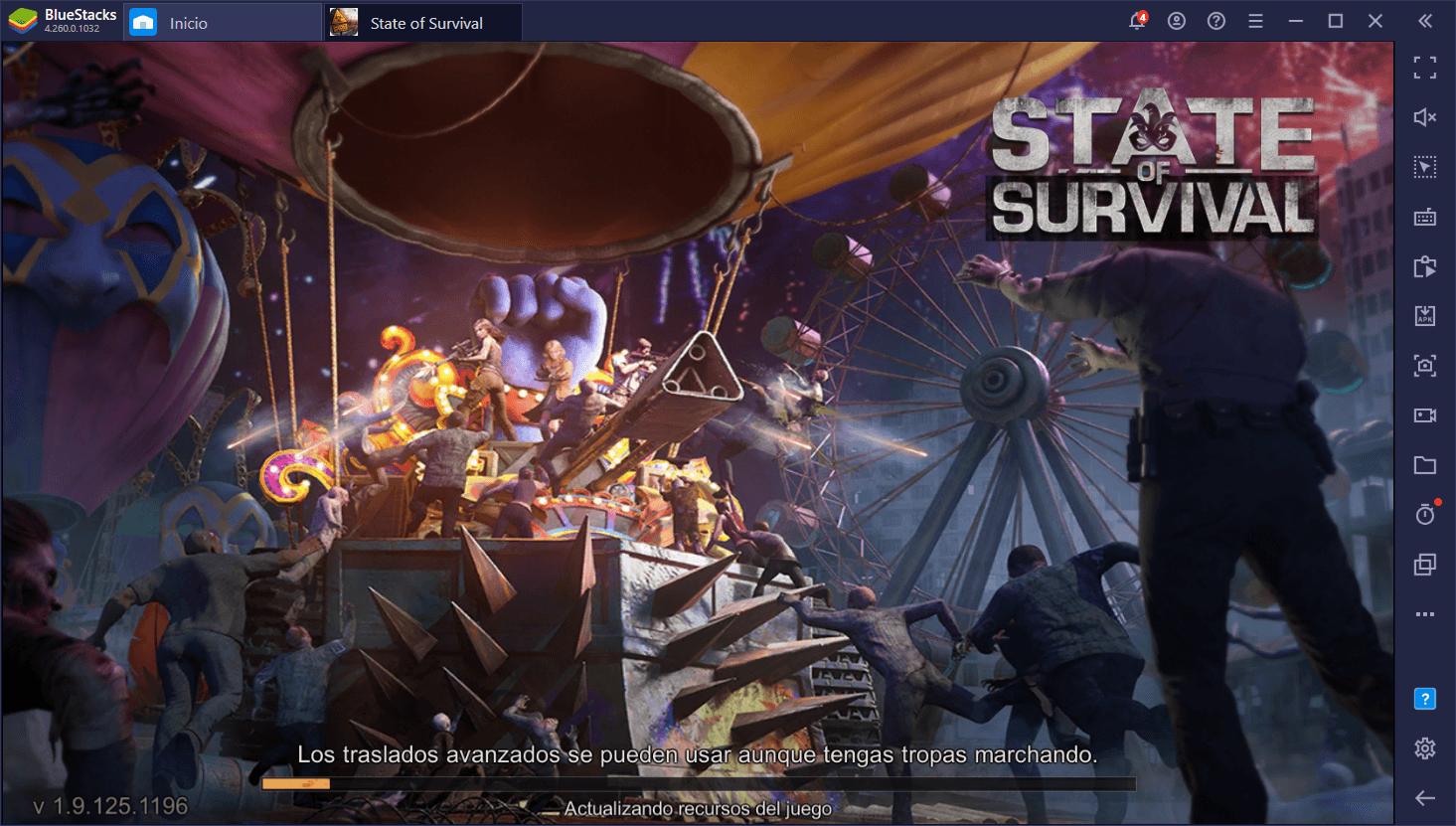 BlueStacks 5 Vs. BlueStacks 4 – Comparación de Desempeño Para State of Survival