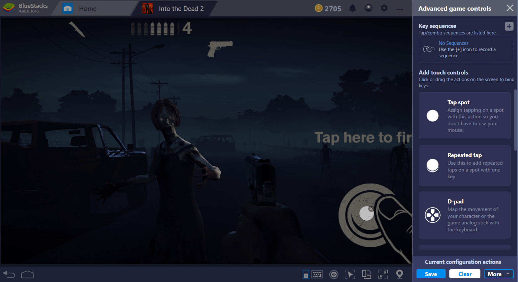 Guide to Playing Into The Dead 2 on BlueStacks