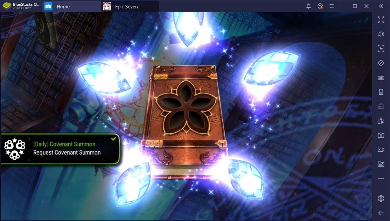 BlueStacks Macros for Epic Seven: Expedite Your Start With These Macros