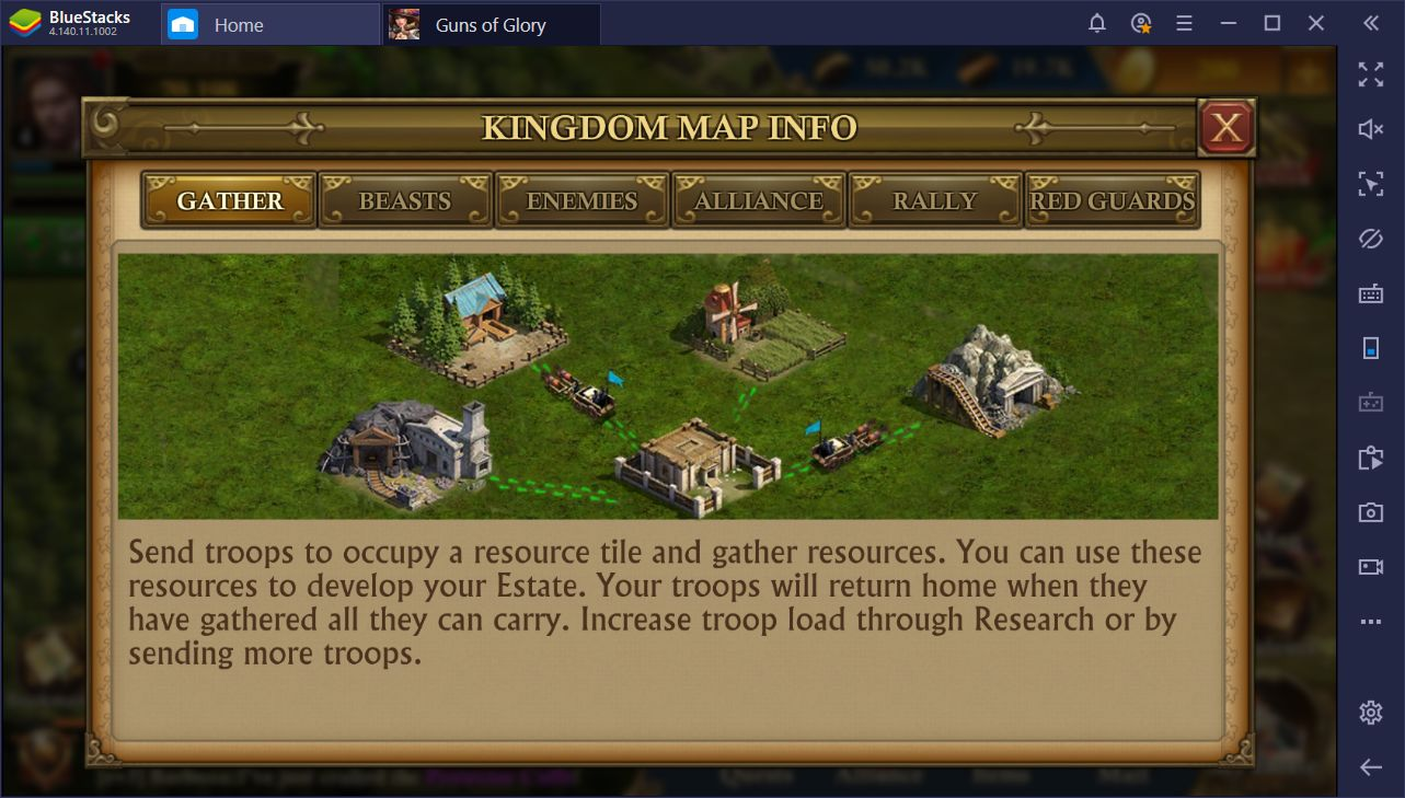 Guns of Glory on PC: BlueStacks Macros to Conquer Your Foes