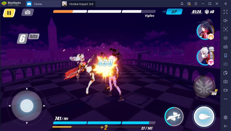 BlueStacks Macros for Honkai Impact 3rd