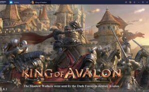 Master King of Avalon on PC with BlueStacks Macros