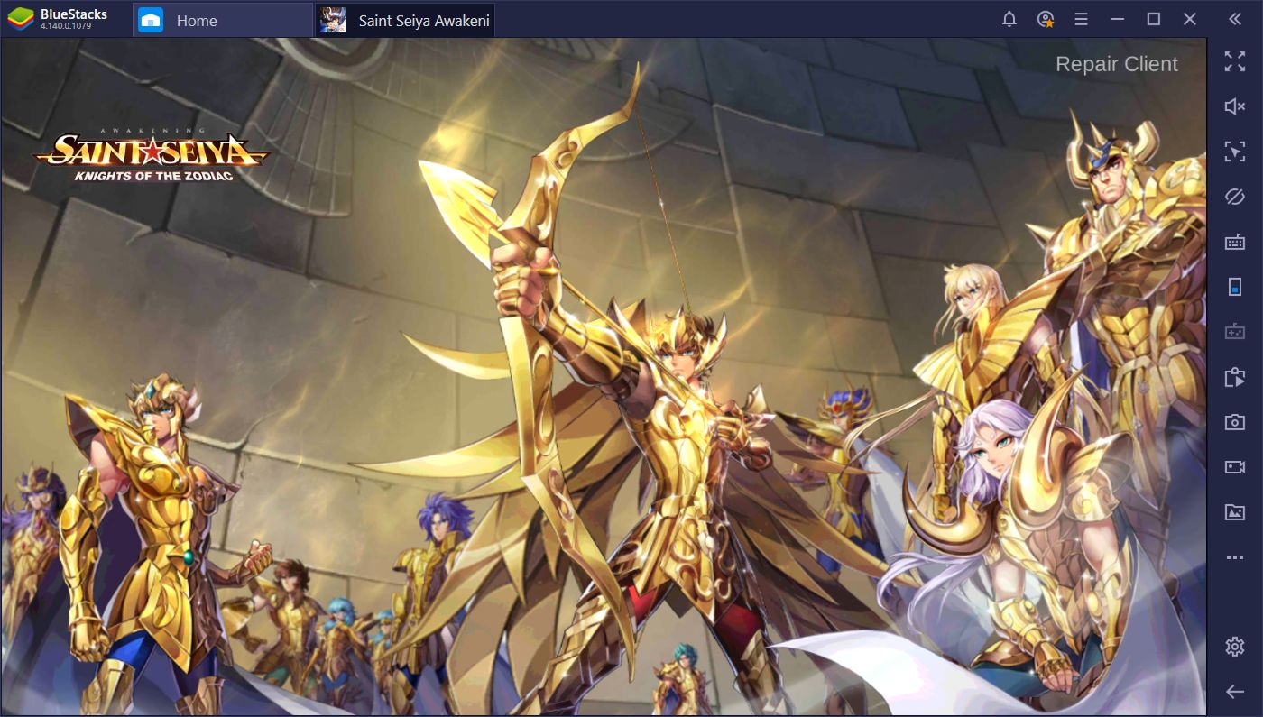 BlueStacks Macros for Saint Seiya Awakening