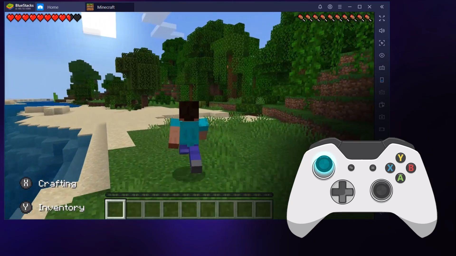 Hỗ trợ tay cầm gamepad, nâng tầm trải nghiệm game với BlueStacks