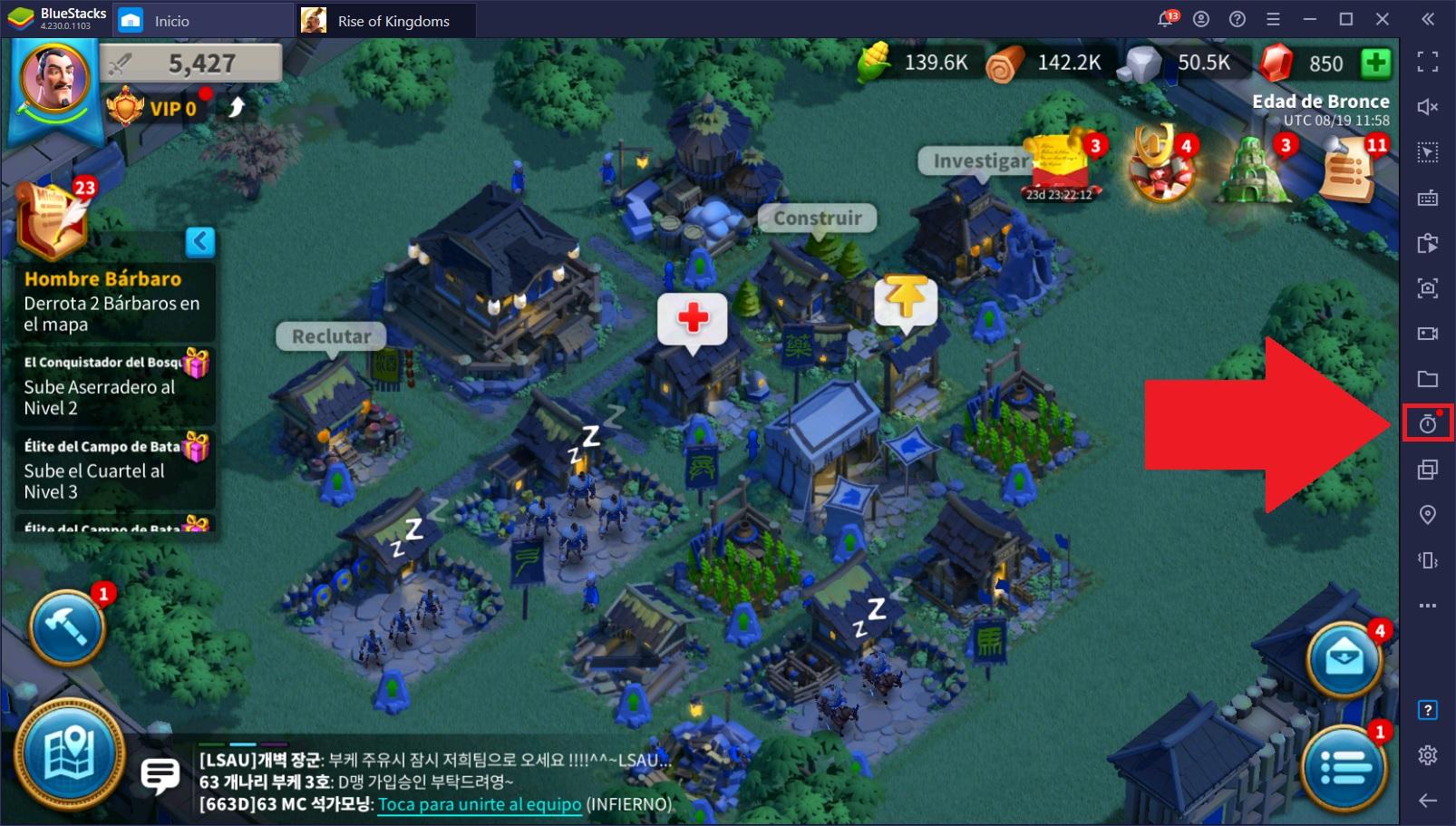 El Nuevo Conversor UTC de BlueStacks: Convierte los Eventos en tus Juegos de UTC a tu Hora Local