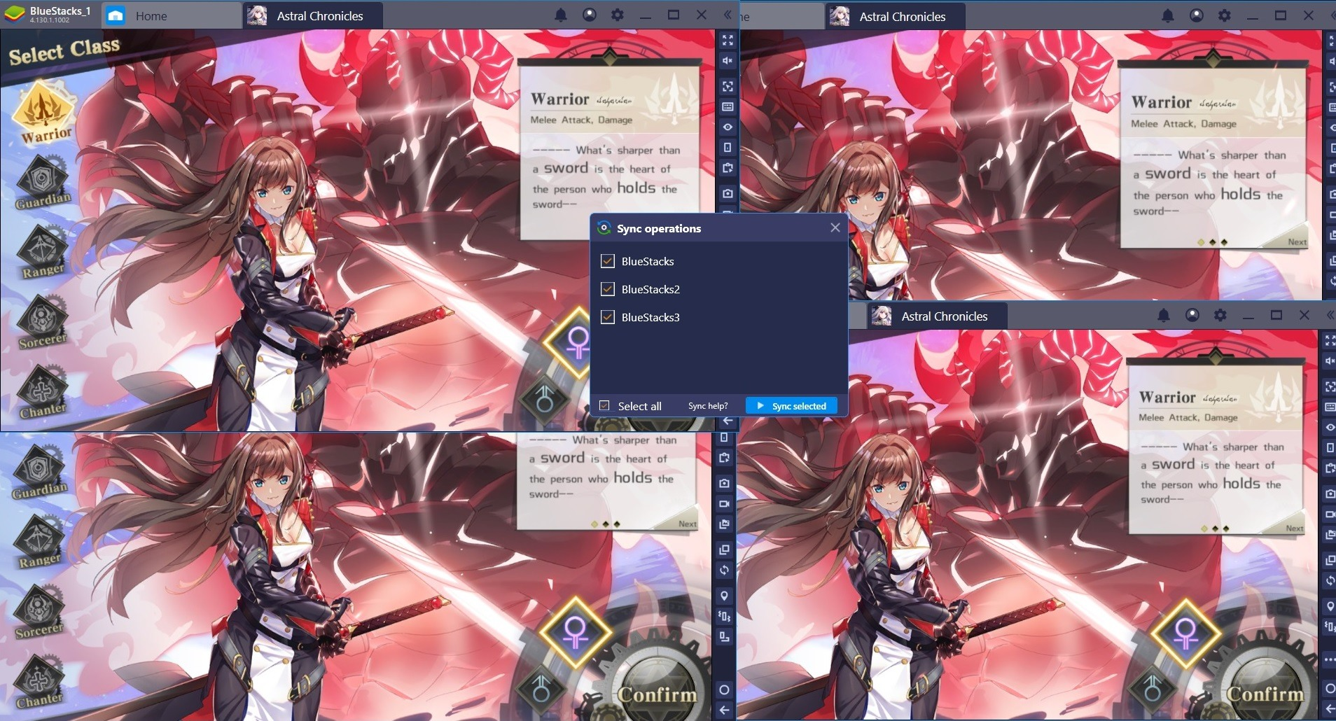 BlueStacks Features: Meisterhaftes Gameplay mit Multi-Instanz-Synchronisierung