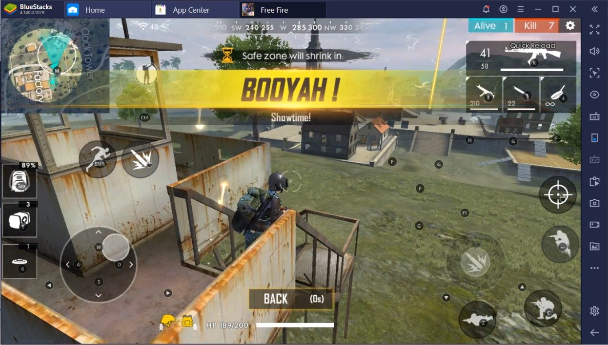 "Bring Home the ""BOOYAH!"" with Smart Controls in Free Fire on PC"