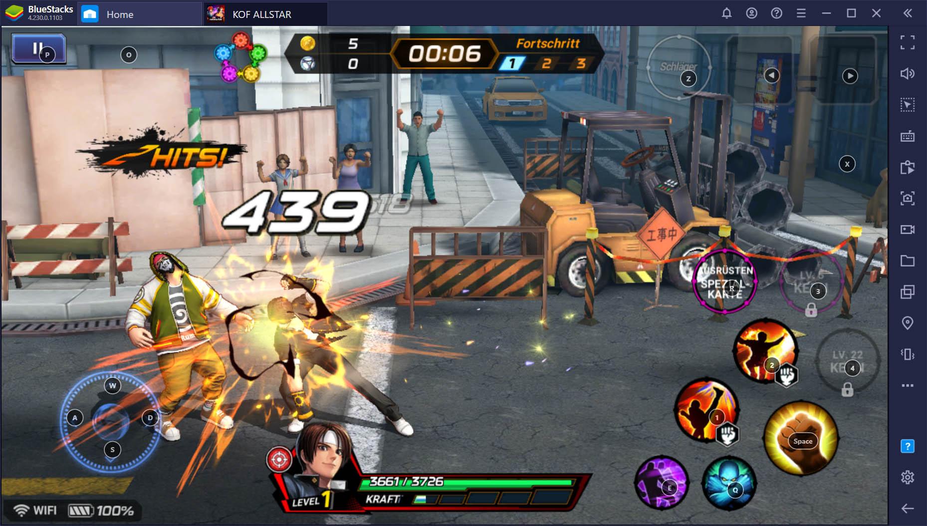 BlueStacks Spielsteuerung: Spiele Android-Spiele auf deinem PC mit Tastatur und Maus oder Gamepad