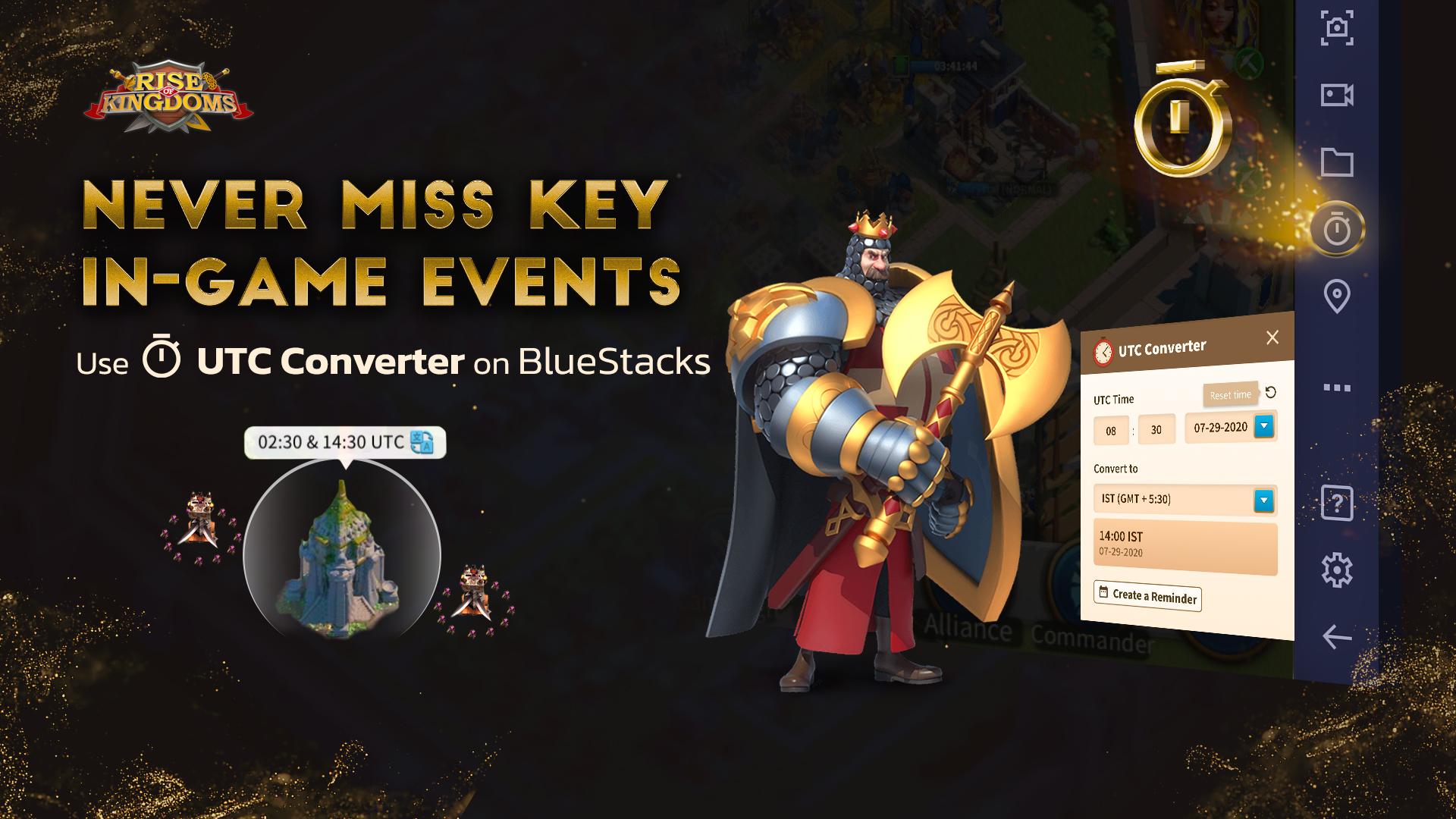 BlueStacks présente le convertisseur UTC : Convertissez les événements de l'UTC à votre fuseau horaire