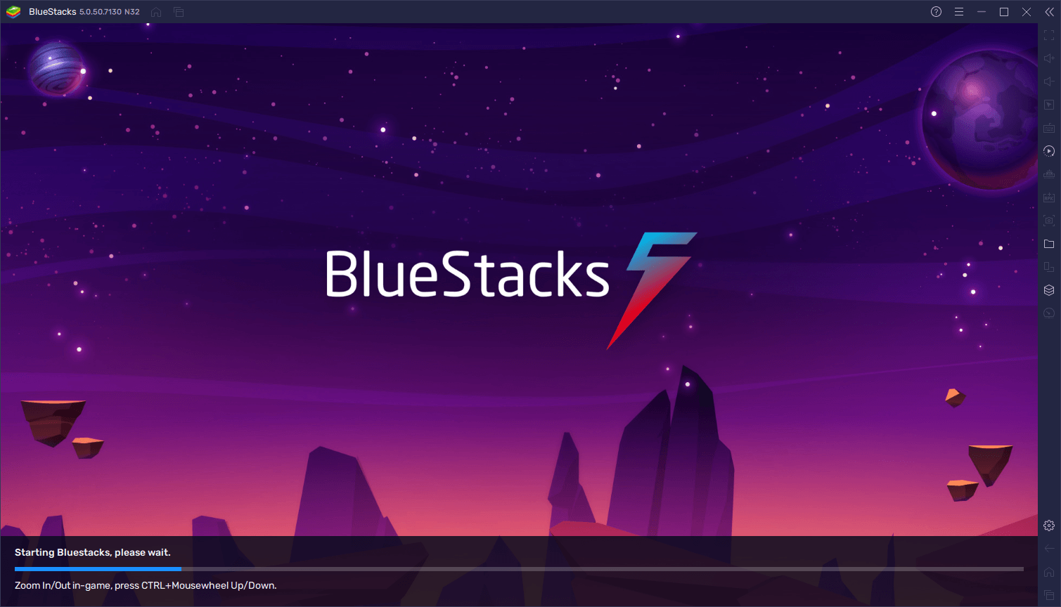 Full BlueStacks 5 screenshot