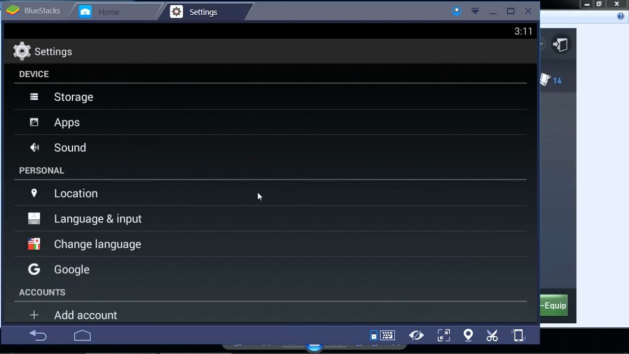 Bluestacks-Settings-1