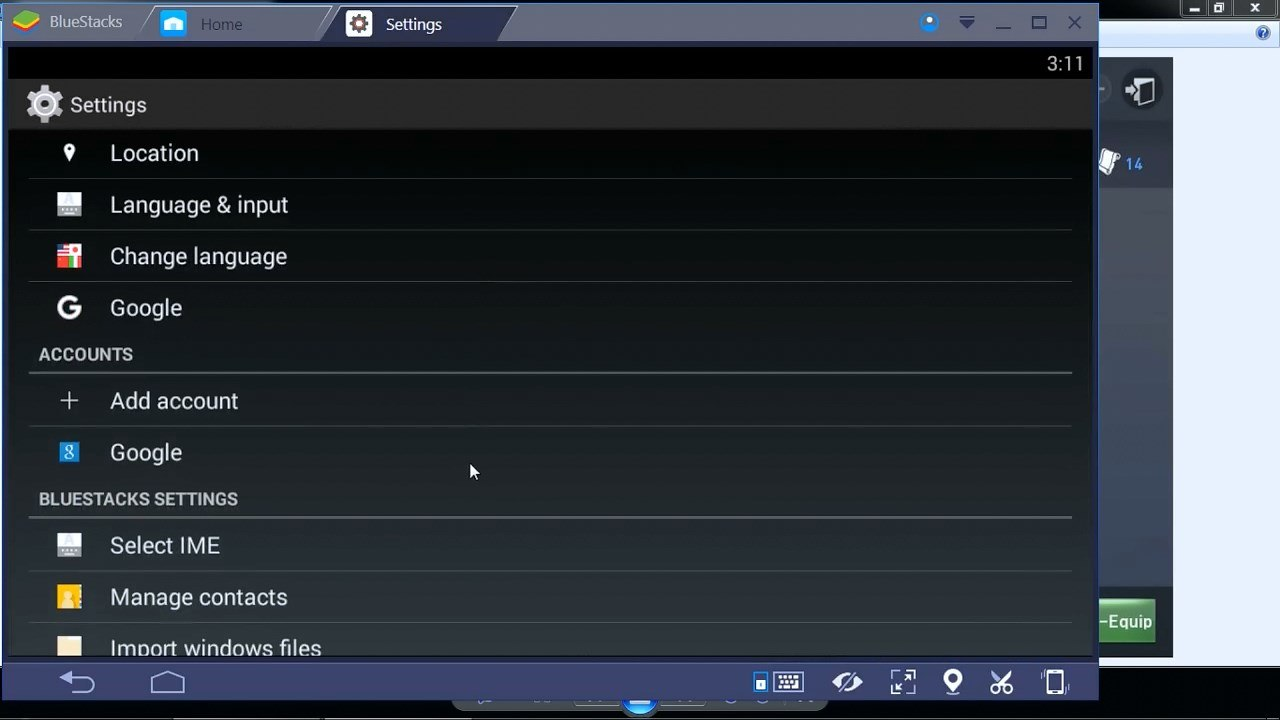 Bluestacks-Settings-2