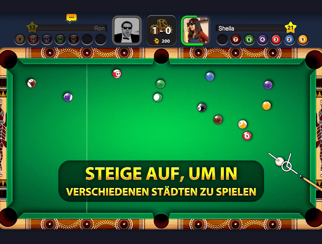 Spiele 8 Ball Pool auf PC 15