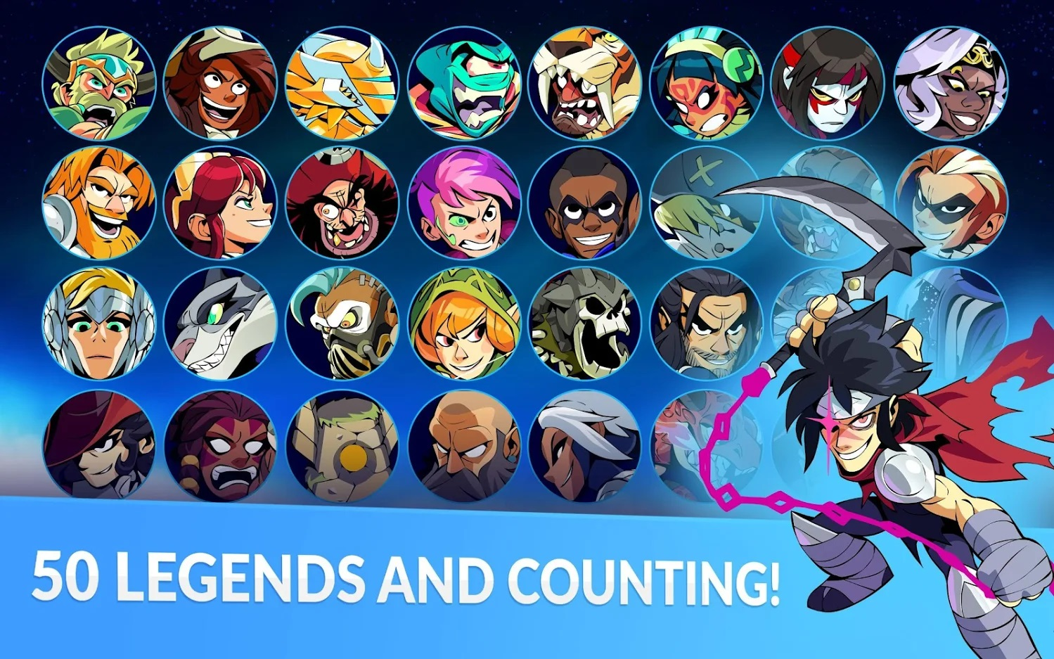Brawlhalla Mobile Landing on Android and iOS on 6th August
