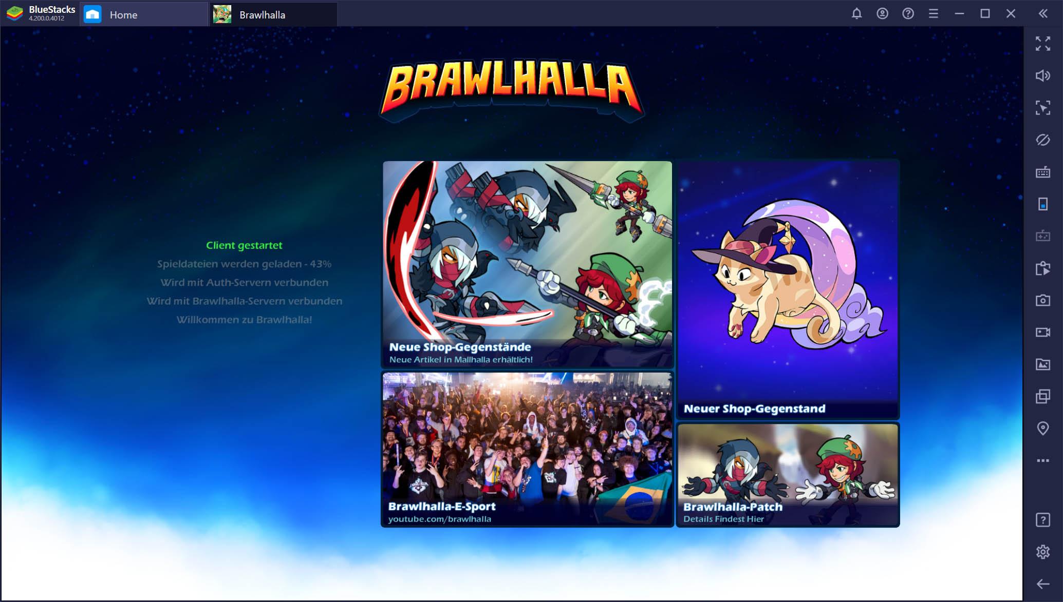Brawlhalla auf BlueStacks – Unsere ersten Eindrücke von der neuen mobilen Version