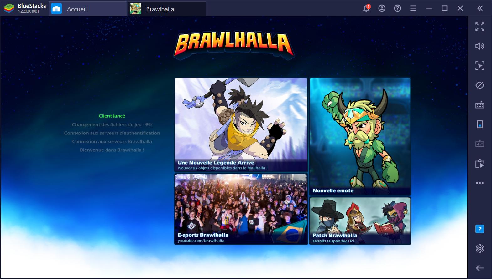 Brawlhalla sur BlueStacks – Nos premières impressions sur la version mobile