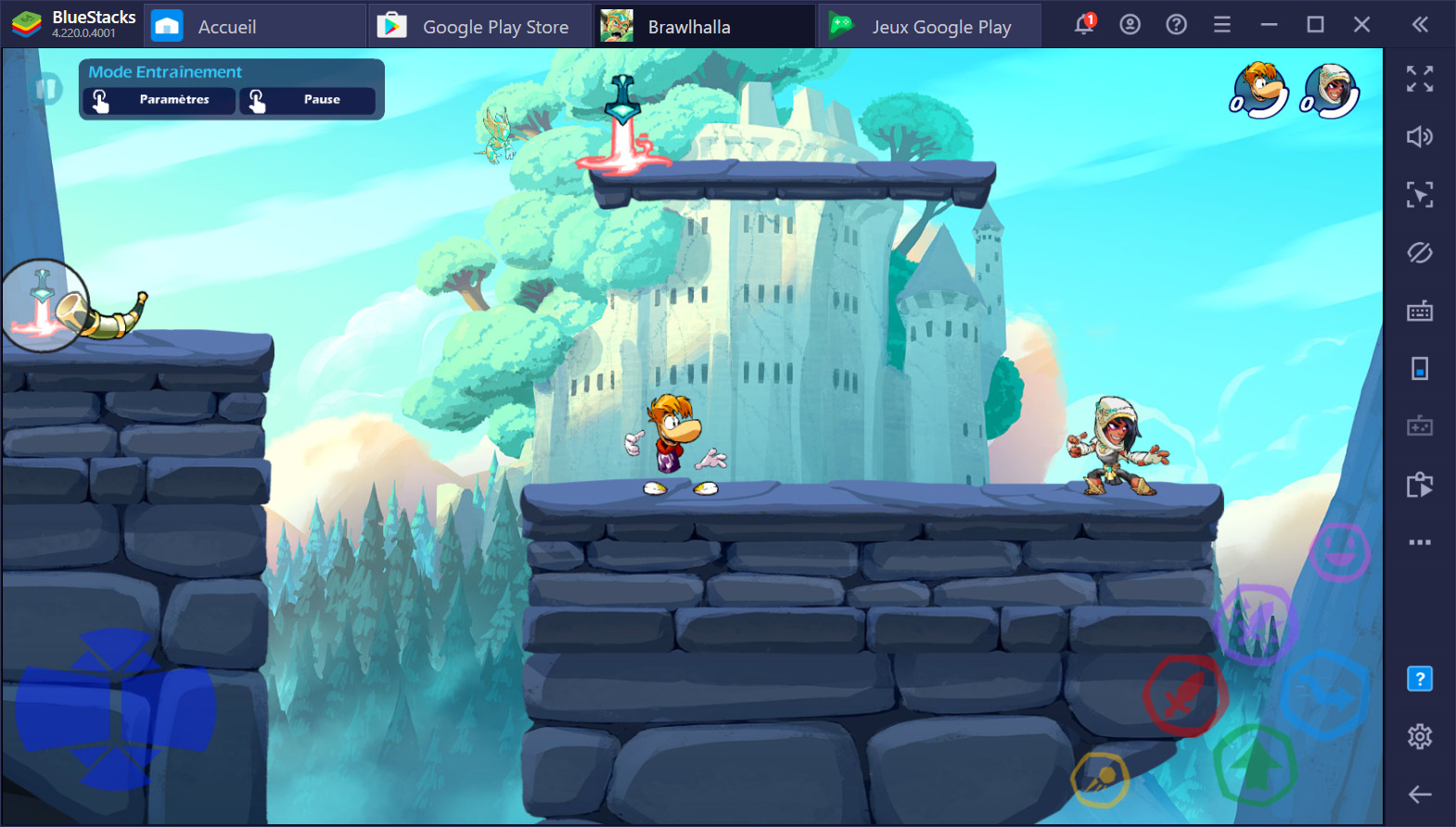 Guide débutant pour Brawlhalla – Introduction au gameplay et aux bases du jeu