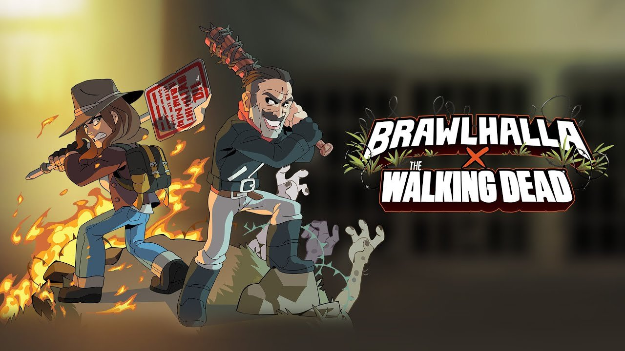 Brawlhalla x Walking Dead: Negan And Maggie Coming Soon.