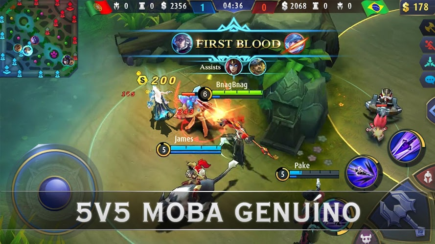 Jogue Mobile Legends: Bang bang para PC 3