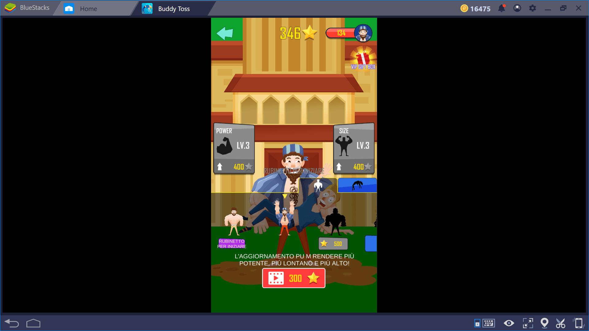 Buddy Toss: un simpatico casual game