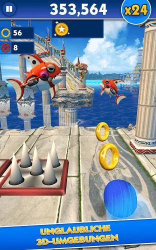 Spiele Sonic Dash auf PC 15