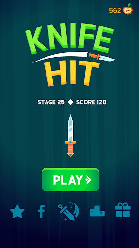 Играй Knife Hit На ПК 5