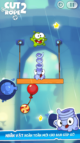 Chơi Cut The Rope 2 on PC 3