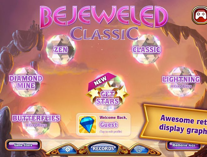 Play Bejeweled Classic on PC 12