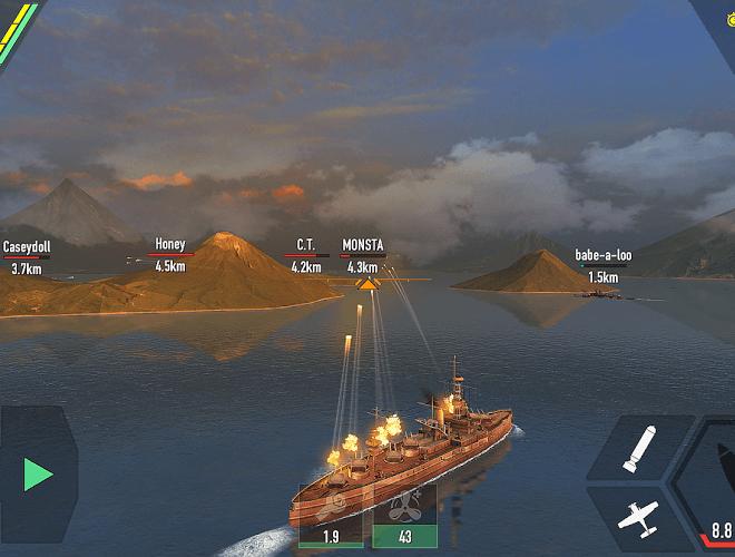 Играй Battle of Warships На ПК 8