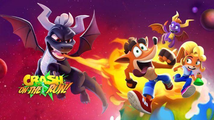Crash Bandicoot: On The Run gets a Spyro The Dragon Crossover for Season 3