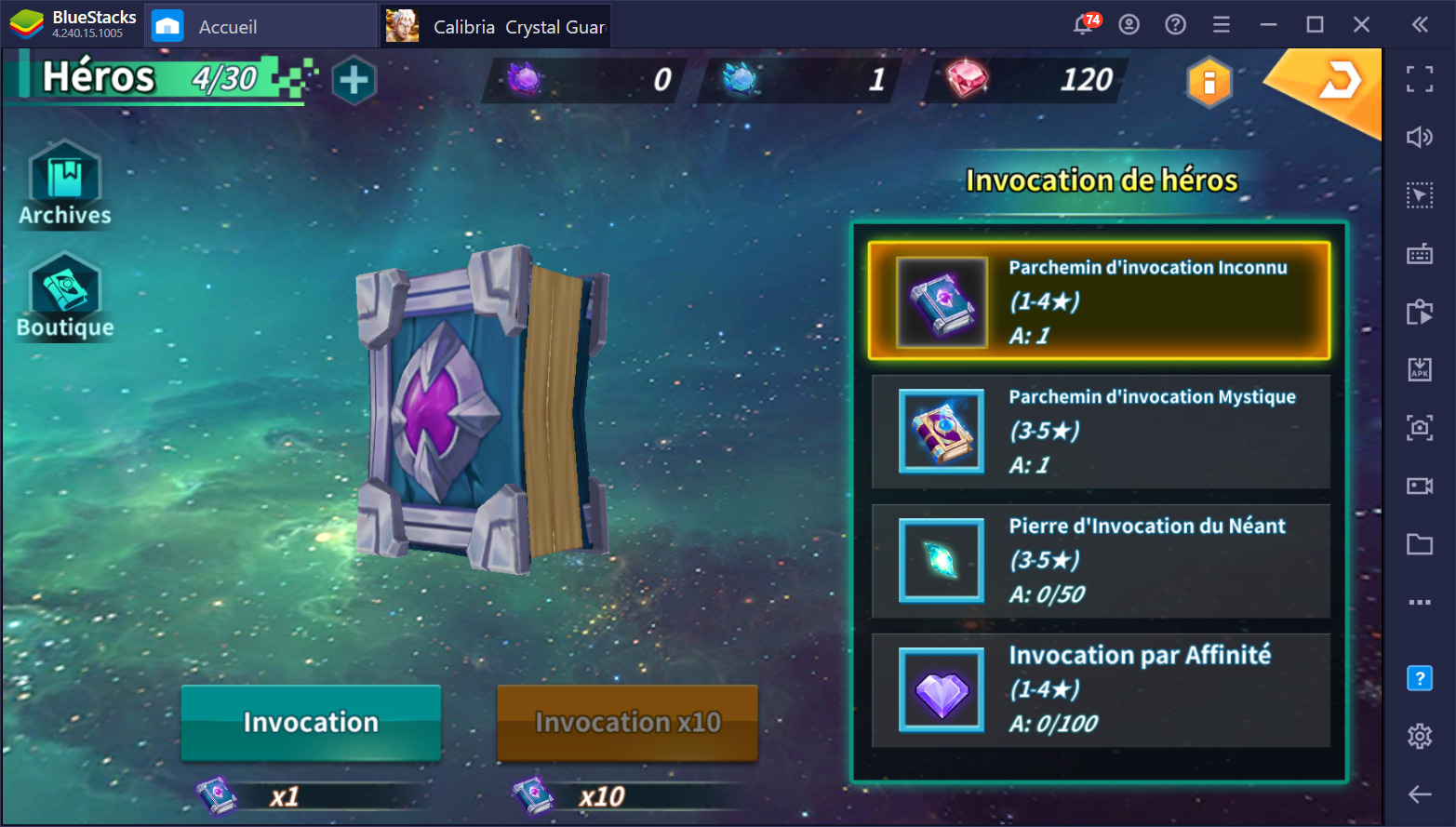 Calibria : Crystal Guardians sur PC – Trucs et astuces pour débutants
