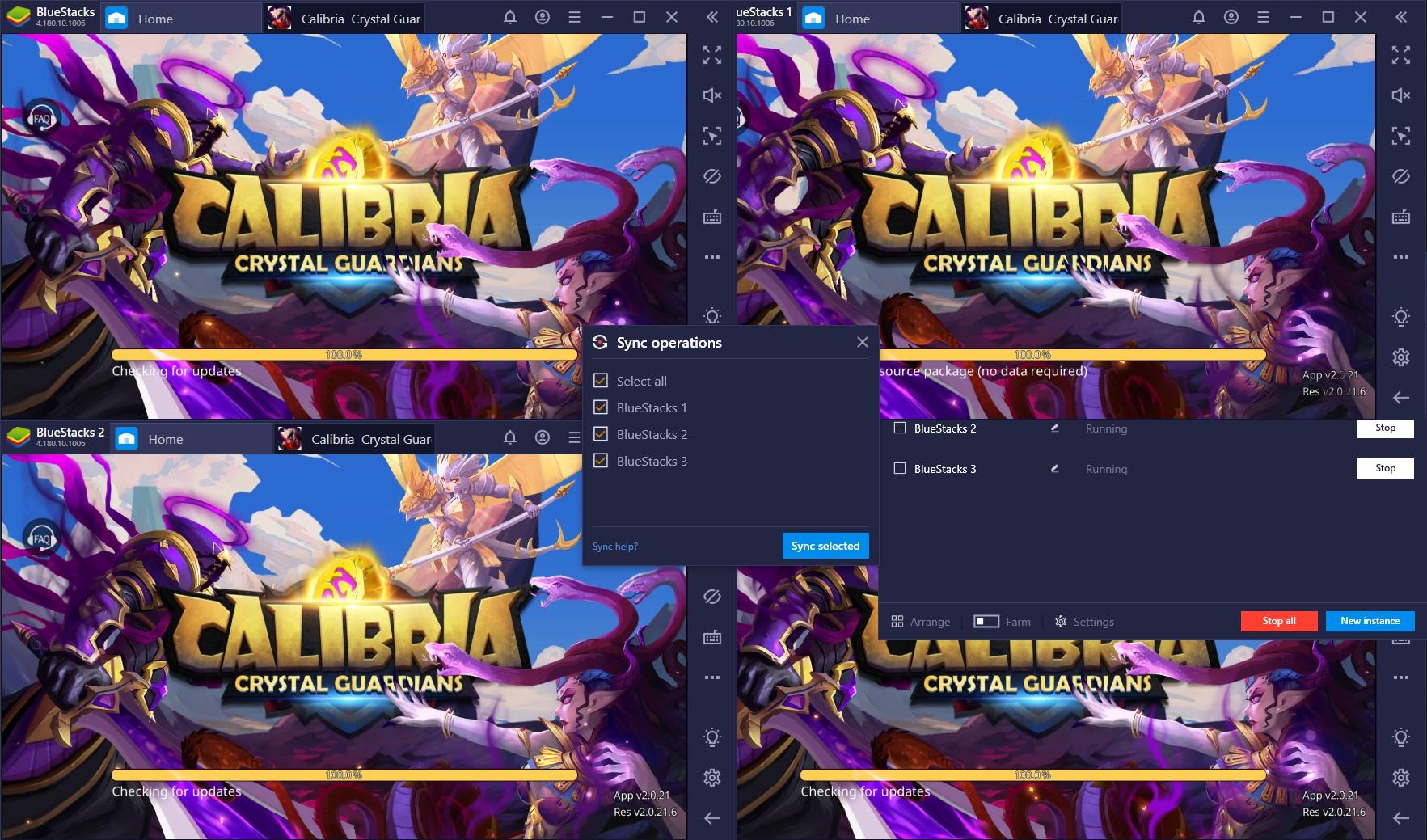 Comment jouer à Calibria : Crystal Guardians sur PC avec BlueStacks