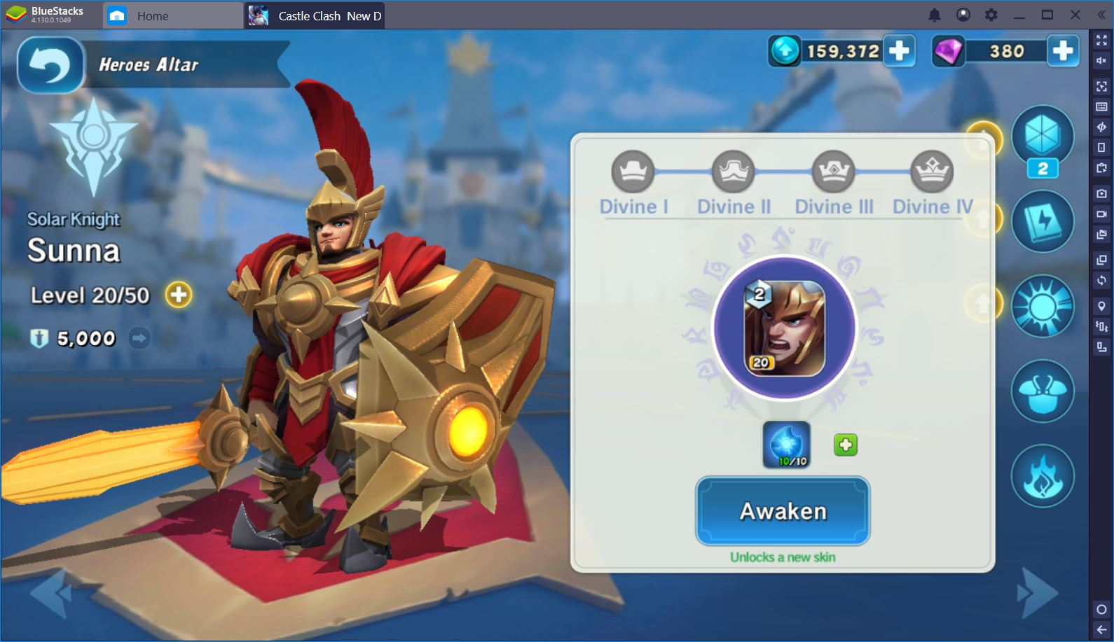 Castle Clash: New Dawn – Obtain and Upgrade Your Favorite Heroes