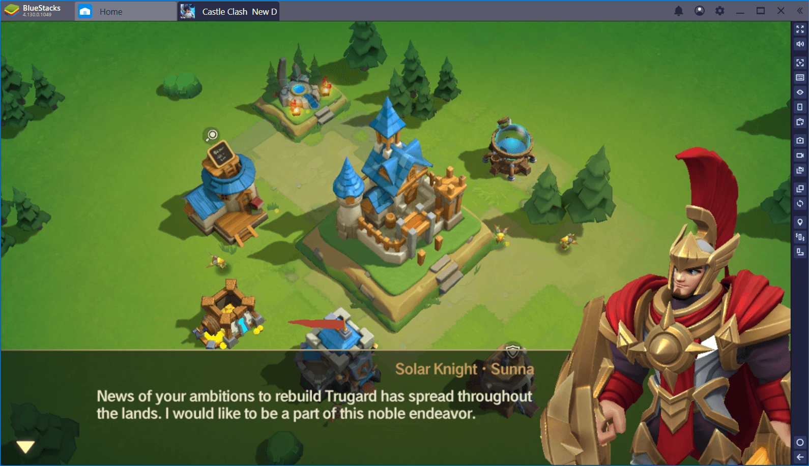 Castle Clash: New Dawn – Works Even Better on BlueStacks