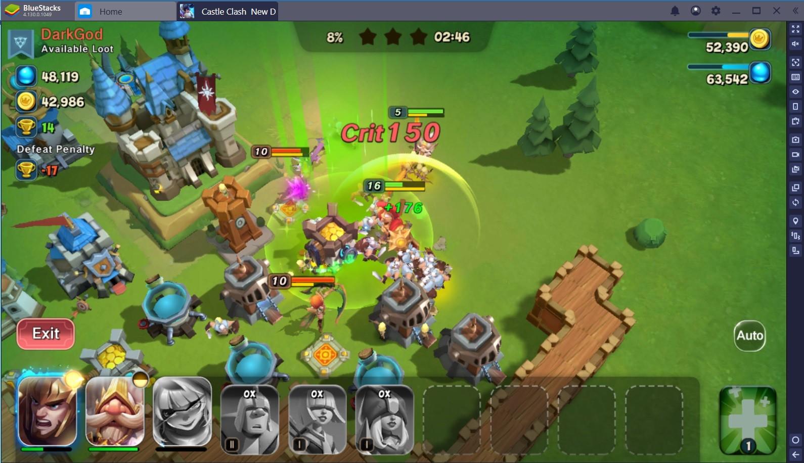 Castle Clash: New Dawn – Works Even Better on BlueStacks