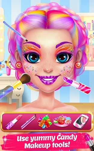 Play Candy Makeup – Sweet Salon on PC 11